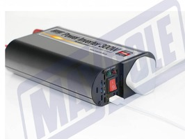 Maypole 300W Power  Inverter with USB Socket 12v/230v