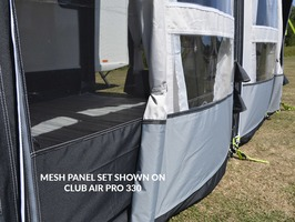 Kampa Club AIR Pro 390/ 390 Plus Mesh Panel Set