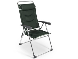 Kampa Dometic Lusso Milano High Back Reclining Chair - Forest Green