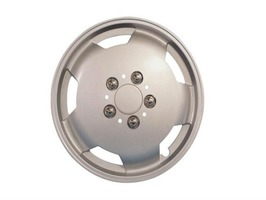 "Milenco Motorhome Wheel Trims 16"" Silver"