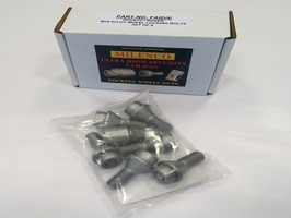 "Milenco Motorhome Locking Wheel Nuts 16"" Box 6"