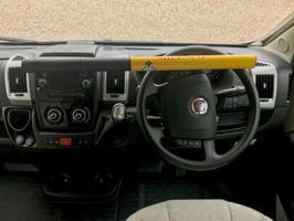 Milenco Commercial Motorhome High Security Steering Wheel Lock