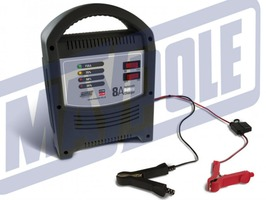 Maypole 8 Amp 6V/12V LED Automatic Battery Charger