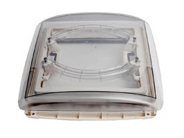 MPK Vision Vent M Pro 400 x 400 Rooflight c/w Flynet and Blind White