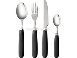 Brunner Party 16 Piece Stainless Steel Cutlery Set Grey