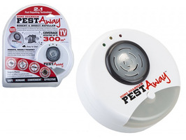 Pest Away Rodent & Insect Repeller with UK 3-Pin Plug