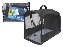 Playful Pet Fold Flat Travel Pet Carrier