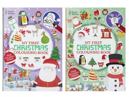 Extra Large Christmas Colouring Book