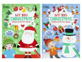 Extra Large Christmas Mixed Activity Books