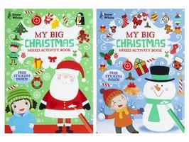 Extra Large Christmas Mixed Activity Books