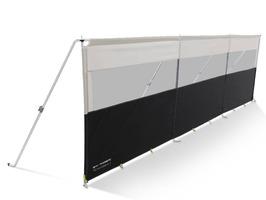Kampa Dometic Pro Windbreak 3 Panel - Aluminium Frame
