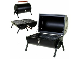 Redwood Portable Barrel Charcoal BBQ