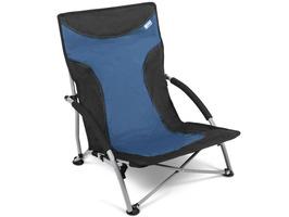 Kampa Sandy High Back Low Chair - Midnight Blue