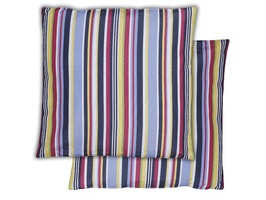 Stripe Print Scatter Cushions Pair