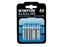 Status AA Alkaline Batteries 4 Pack