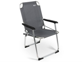 Kampa Summer Aluminium Folding Chair - Grey
