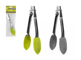 Summit 18cm Silicone Tongs