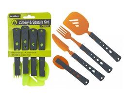 Summit 4 Piece Retractable Cutlery Spatula Set