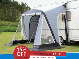 Sunncamp Swift 220 AIR Plus Caravan Awning