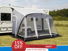 Sunncamp Swift 390 AIR Plus Caravan Porch Awning