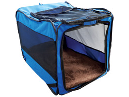 Streetwize Collapsible Pet Car Kennel
