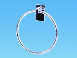 PLS Chrome Round Towel Ring