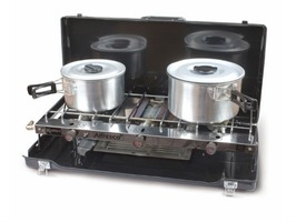 Kampa Alfresco Double Gas Hob & Grill