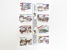 Humourous Caravan Themed A6 Christmas Cards - 8 Pack