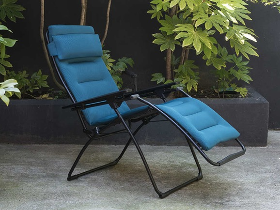 Lafuma Futura Air Comfort Recliner Coral Blue Homestead