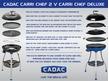 Cadac Carri Chef 2 BBQ & Chef Pan Combo