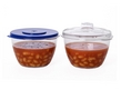 Easy-Cook Non Staining Microwave Mini Pots