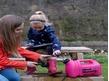Mud Mummy 5L Portable Washing Device - Pink